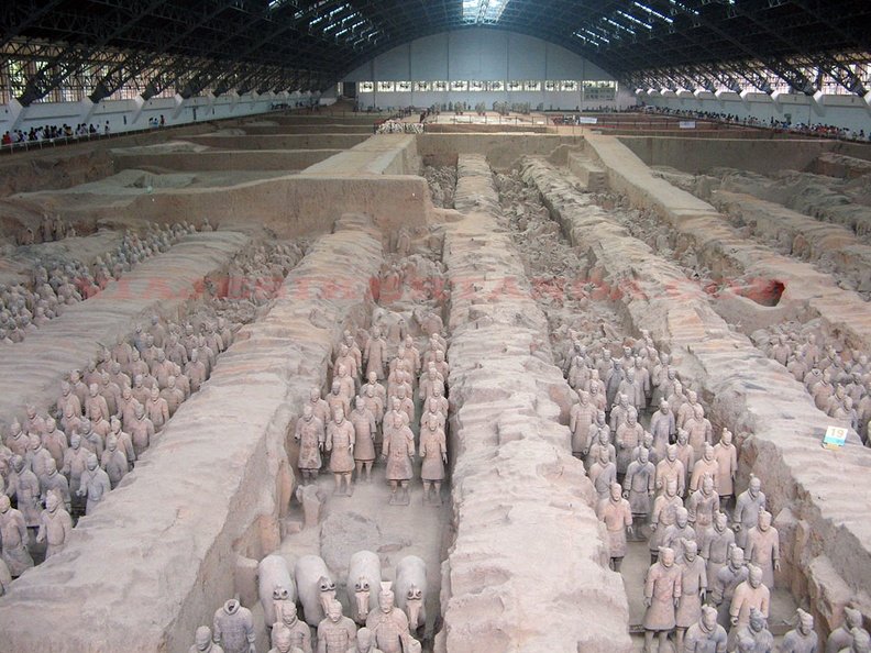 Los guerreros de Terracota en Xi´An, China.jpg